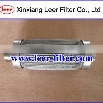 Stainless Steel Pleated Sintered Filter