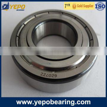 6200 series high quality 6207ZZ Single Row Deep Groove ball bearings