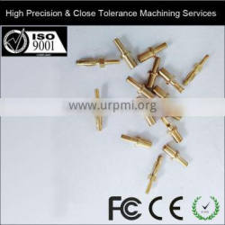High Precision & Close Tolerance Machining (CNC) Lathe Machine Working Processing Custom Metal Parts Brass Screw Stem