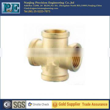 custom brass cnc machining forged fittings