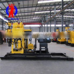 Top quality widely used portable 200 m drill depth hydraulic water well drilling rig deep hydraulic water well drill machine