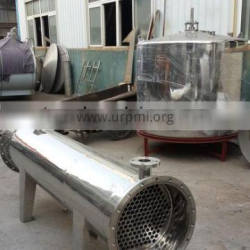 stainless steel tube and shell heat exchanger