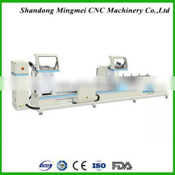 factory manufacture on exihibition aluminum profile window and door double head cutting saw aluminum window machine