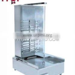 low energy stainless steel electric kebab grill machine
