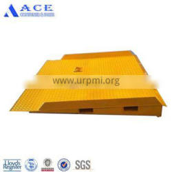 Painted and Galvanized Mobile Container Ramp for Forklift