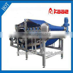 High juicing rate industrial apple squeezer with ISO and CE