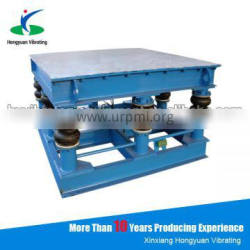 price for vibrating table for concrete mould with double motor