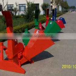 CE PTO wood chipper for 25-100HP tractor