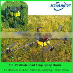 2017 high quality China 10kg agriculture drone / agricultural unmanned multi-rotor sprayers