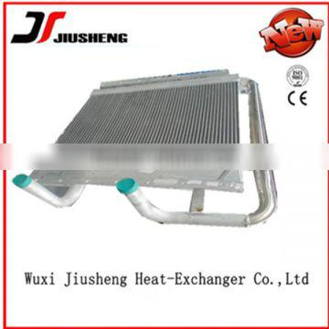 China manufacture aluminum plate-bar air cooled tractor transmission oil in brazing construction