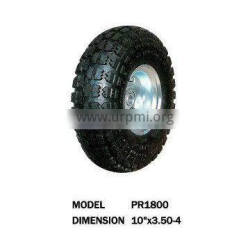 pneumatic rubber caster wheels with rims