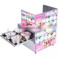 Popular products for making Colourful spun sugar rabbit automatic operated cotton candy machine