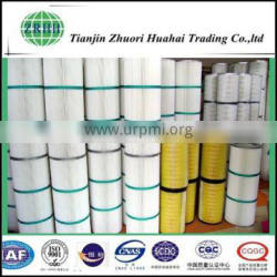 Filter cloth material cartridge type and resistance high temperature collection dust filter