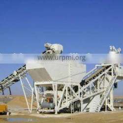 Short production cycle high quality mobile batch plant YHZS50