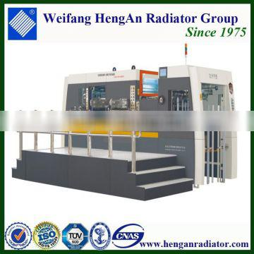 MZ1050/1050Q cardboard flat bed automatic die cutting machine with stripping