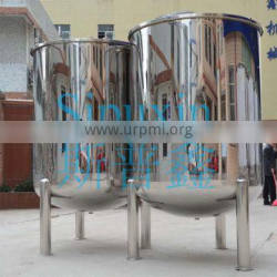 Single-layer stainless steel structure oxygen storage tank