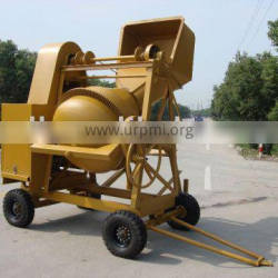 Containerized Export North Africa Diesel Tilting Drum Diesel Concrete Mixer