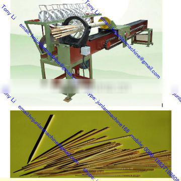 daily use fresh bamboo wood toothpick production machine production line