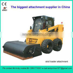 skid loader attachment sweeper (skid loader attachment,bobcat attachment)
