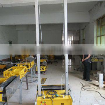 Automatic mortar plastering machine for wall