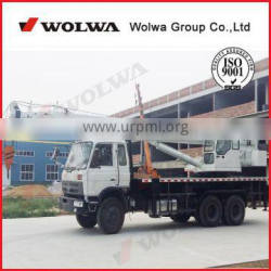 25 ton Mobile Hydraulic Truck Crane with 6 section telescopic boom for sale