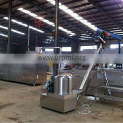 Snack food extrusion technology