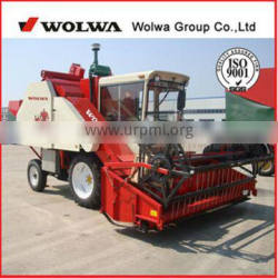 combine harvester W4D-1 for sale soybean harvester machine