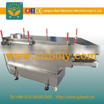 vibrating sifting machine for electronic industries