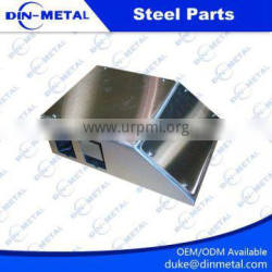 polished aluminum alloy decorative sheet metal fabrication