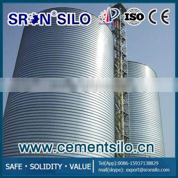 Galvanized 300ton-7000ton Lipp Spiral Steel Silo for Cement, Fly Ash and Lime