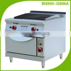 Commercial kitchen equipment for hotel and restaurant /gas range 4 burners with oven