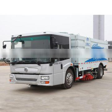 YUTONG Euro Four Emissions Plain Coloured Green Big Energy-efficient Road Washer Trucks