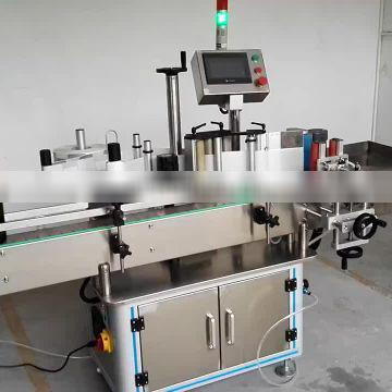 Square wine bottle/surface stickers labeling machine in low price