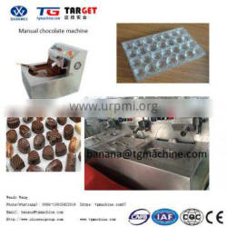 Manual chocolate tempering machine chocolate moulding machine with chillers thermostat pure
