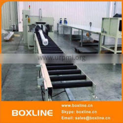 Automatic aluminum composite panels orbital stretch wrapping machine