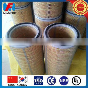 Steel mill dust collector air filter cartridge(Factory supply custom service)