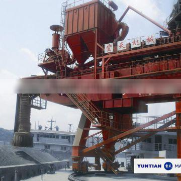 Cement loader for ships