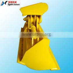 Excavator hydraulic machinery parts with cylinder