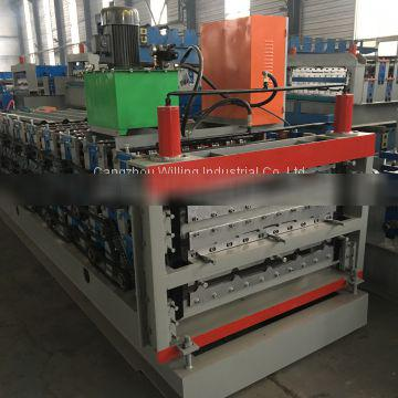 ibr roof tile roll forming machine