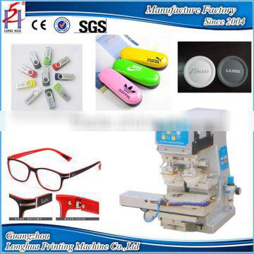 1 Color Double Heads Manual Mini Pad Printing Machine For Computer Keyboard &Gift/Pad Printer Manufacturer