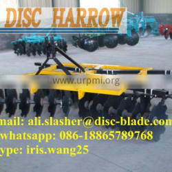 tractor mounted opposed 24 disc harrow