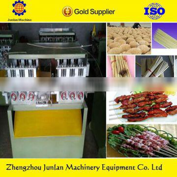 wood bamboo food stick processing for fruit pick skewer stick