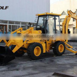 1m3 bucket capacity WOLF small backhoe loader for sale WZ30-25(A type)