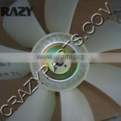 Low price EX200-5 6BG1 engine fan, EX200-5 FAN BLADE, 6BG1 ENGINE COOLING FAN