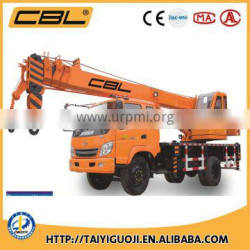 2016 new design 10ton crane mounted on truck with optional working platform