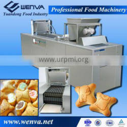 New Condition and Biscuit Application PLC control cookie injection machine