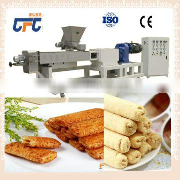 Puffed corn wheat snacks food extruder production line