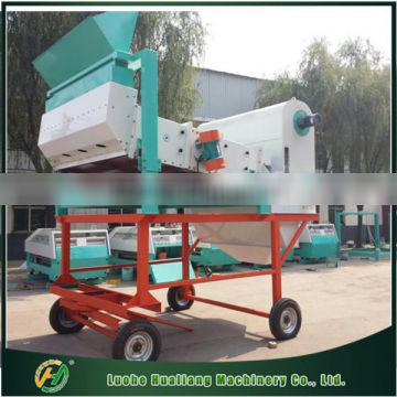 Mobile complete sets of dry bean seeds cleaning machine