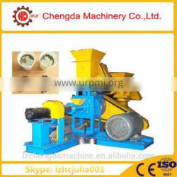 Widely used fish feed extruder, floating fish feed pelletizer, feed extruder machine with CE