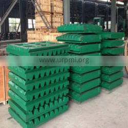 High manganese crusher jaw plates